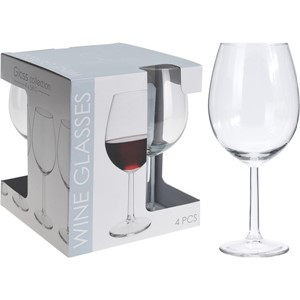 GLASS VINGLASS 4 PK 58CL 1/6