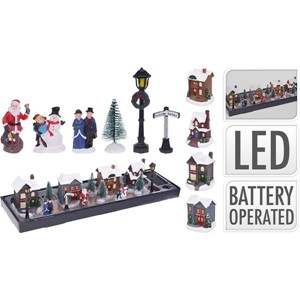 JUL LANDSBY SETT 14DELER LED 1/12