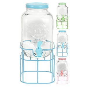 GLASS DISPENSER 4 LITER M/KRAN 1/4